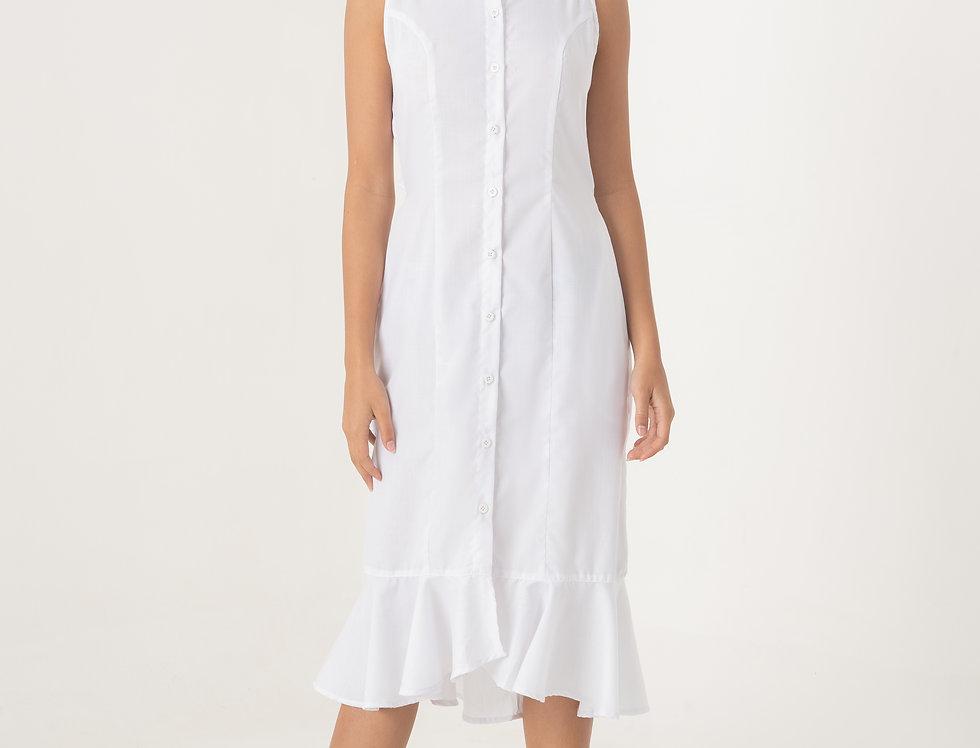 Cortee Button-Up Dress