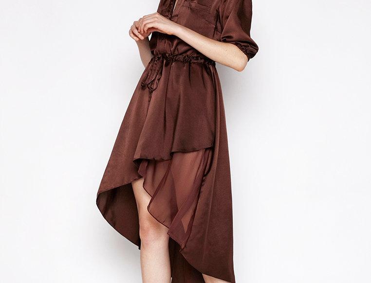 Alexandria Brown Dress