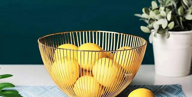 Fruit Bowl Iron Fruit Plate