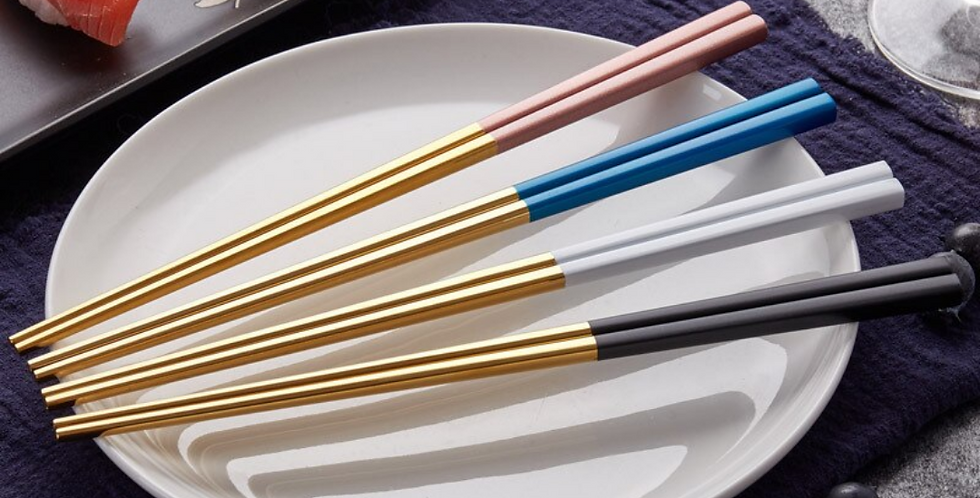 Korean Style Chopstick ( Colourfull )