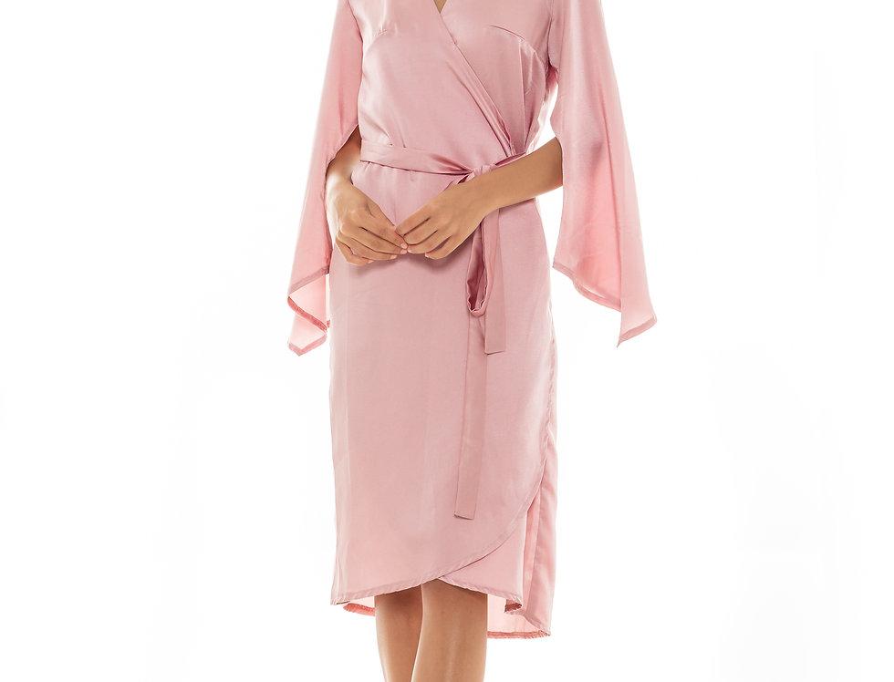 Eden Robe - Dusty Pink