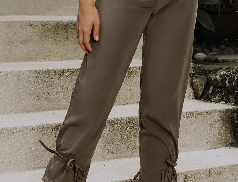 Camo Tapered Pants