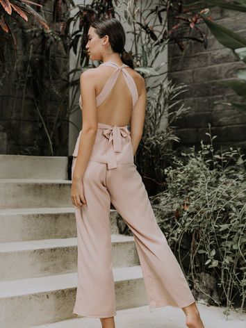 Carla Self-tie Top & Blair Pull-on Trousers