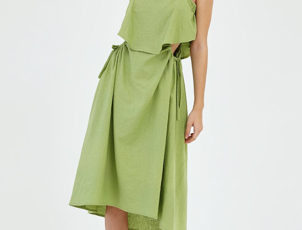 Voca Drawstring Dress