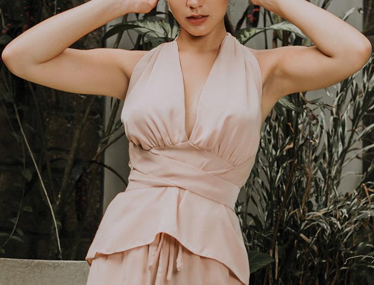 Carla Self-Tie Top