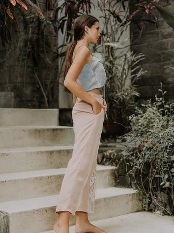 Daisy Chiffon Top & Blair Pull-on Trousers