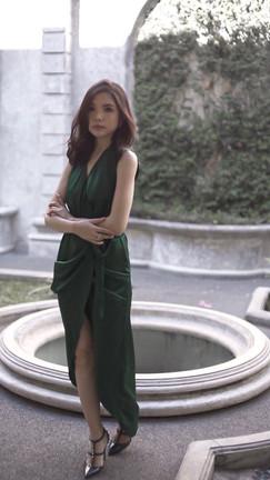 Aten Wrap Dress