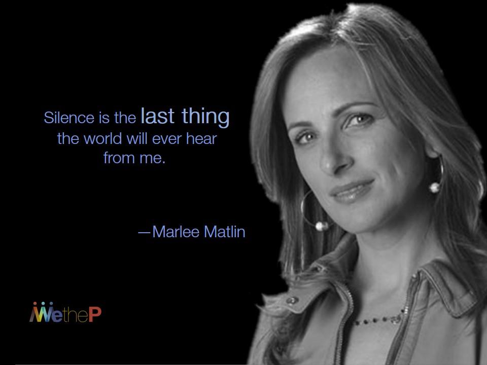 8-24 Marlee Matlin