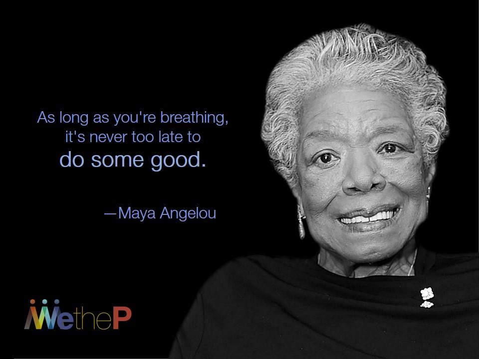 4-4 Maya Angelou