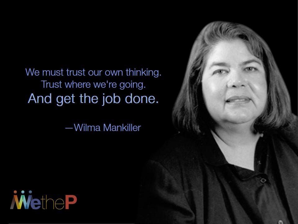11-18 Wilma Mankiller