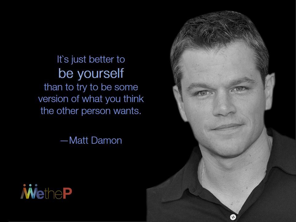 10-8 Matt Damon