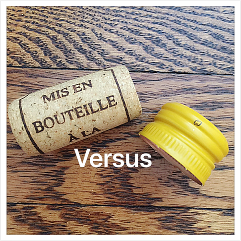 "A ""Seal"" Of Approval.                                                             Cork Or Screw Cap?"