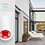 Thumbnail: Sirene de alarme sem fios PST-GW103 anti-roubo para espaços exteriores