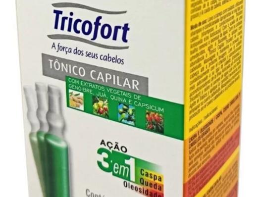 Vitamina Tricofort (Tônico Capilar) Cx 6un