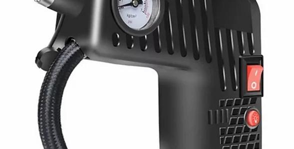 Bomba compressor de ar portátil para carros, motos, bicicletas e outros fins