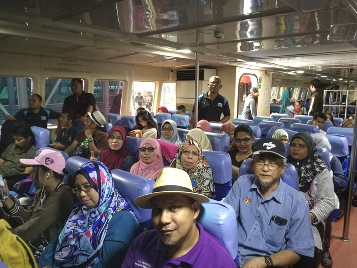 Lawatan Kerja Ke Hospital Langkawi - 11-13 Ogos 2018