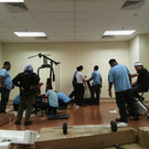 Pemasangan Peralatan Gym - 4.10.2018