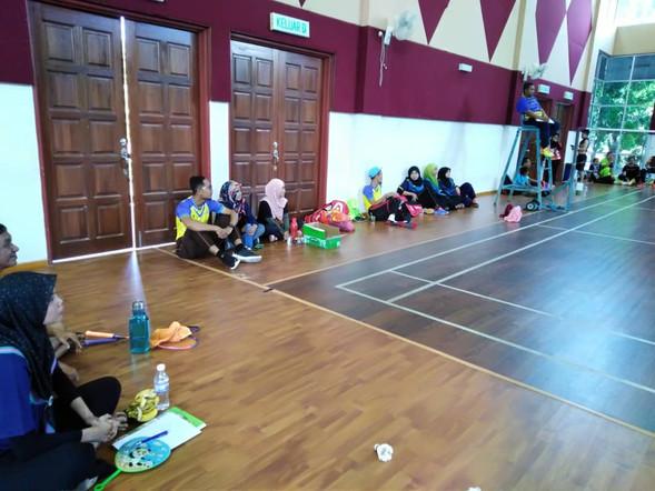 Perlawanan Badminton JKN Perak - 22.9.2018 Kompleks Sukan Rakan Muda, Kampar