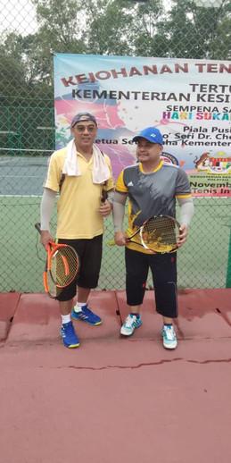 Kejohanan Tenis Berpasukan KKM - 3-4 Nov 2018