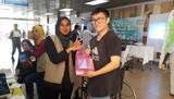 Booth Jualan Barangan Kesihatan Di Lobi HSR