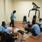 Pemasangan Peralatan Gym - 4.10.2018 (2)
