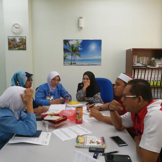 Perbincangan Program Lawatan Kerja Ke Hospital Langkawi