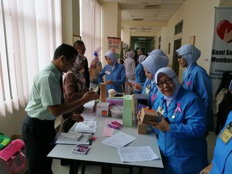 Booth Kelab Sukan HSR - Perhimpunan Hospital