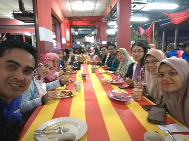 Lawatan Kerja Ke Hospital Langkawi - 11-13 Ogos 2018 (Jeti Kuala Perlis)