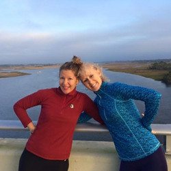 Running the Beach Blvd bridge pays off! Congrats Sandi on your Disney Marathon!