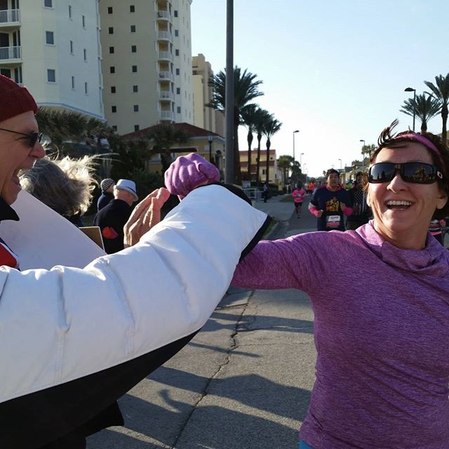Fist pumping our mammograms representatives!