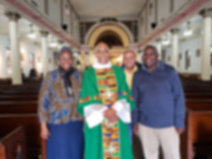 With Fr. Broussard-Sister Fleur, Joao, H