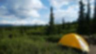 デナリ国立公園ワンダーレイクキャンプ場