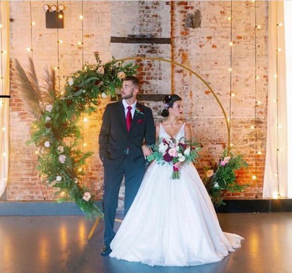 Boho meets industrical micro wedding