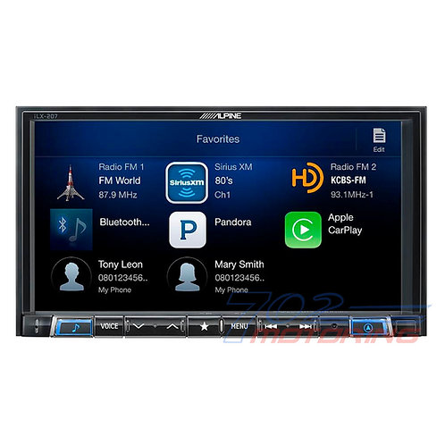 ALPINE iLX-207 DIGITAL MEDIA RECEIVER (DOES NOT PLAY CDS)