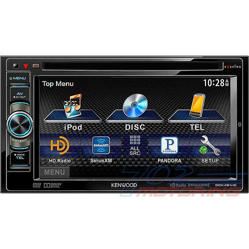 DDX491HD Monitor Receiver with bluetooth & HD radio