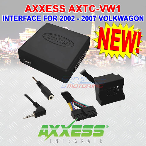 METRA AXTC-VW1 STEERING WHEEL CONTROL & ACCESSORY INTERFACE / VOLKSWAGON 03 - 17