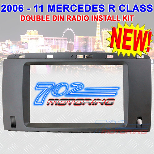"""2006 - 2011 MERCEDES-BENZ """"R"""" CLASS DOUBLE-DIN RADIO STEREO INSTALLATION KIT NEW"""