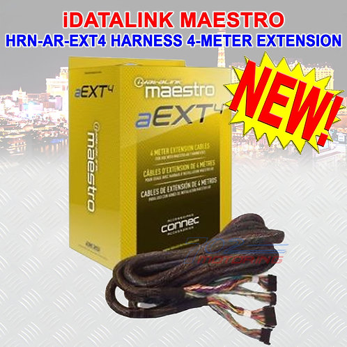 MAESTRO HRN-AR-EXT4 DSR1 COMPATIBLE 4-METER EXTENSION CABLE FOR DSR1 HARNESS NEW