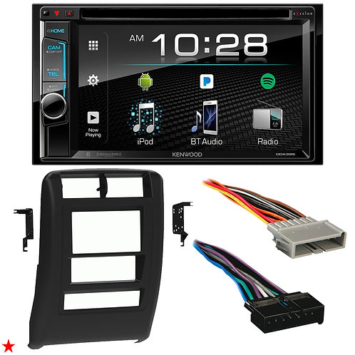"1997 - 2001 JEEP CHEROKEE DOUBLE DIN CAR STEREO INSTALLATION DASH KIT BEZEL ""06"""