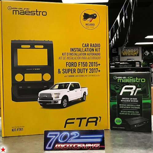 MAESTRO IDATALINK ADS-KIT-FTR1 + ADS-MRR COMPATIBLE WITH ALPINE ILX-F309 HALO9