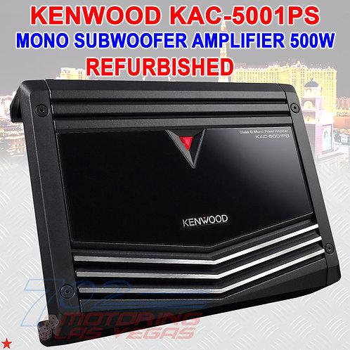 KENWOOD KAC-5001PS(RB) REFURBISHED MONOBLOCK CAR AMPLIFIER 500 WATT POWER OUTPUT