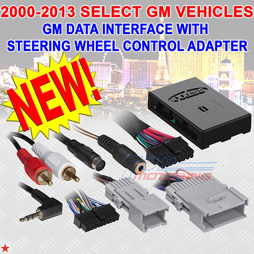 GM DATA INTERFACE SWC ADAPTER FOR GM CAR TRUCK SUV VAN CAR RADIO STEREO INSTALL