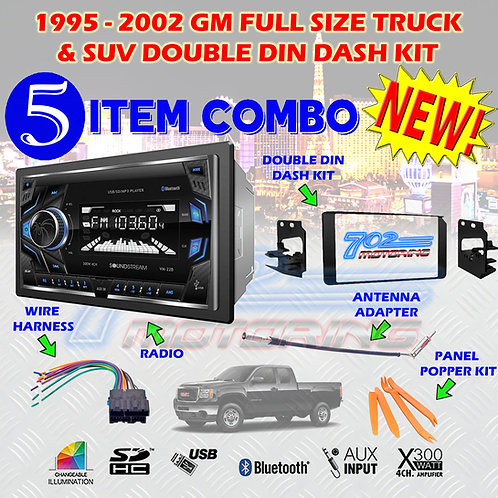 95-02 GM TRUCK/SUV VM-22B + 95-3003G + HARNESS + ANTENNA + POPPERS