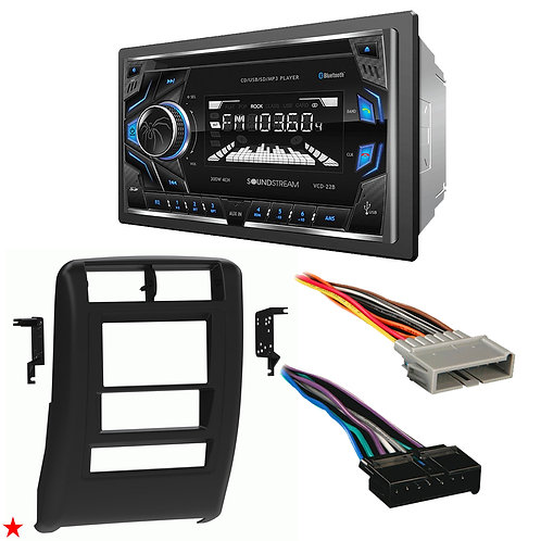 "1997 - 2001 JEEP CHEROKEE DOUBLE DIN CAR STEREO INSTALLATION DASH KIT BEZEL ""A"""