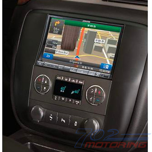 alpine ktx-gm8-0 restyle dash and wiring kit install and connect a alpine navigation  system in select 2007-up general motors vehicles  general features: