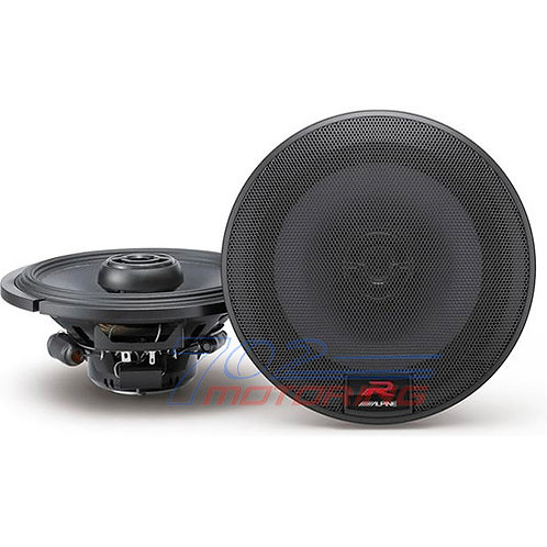 "ALPINE R-S65 6.5"" TYPE R CAR AUDIO 2 WAY 300 WATT SILK TWEETERS COAXIAL SPEAKERS"