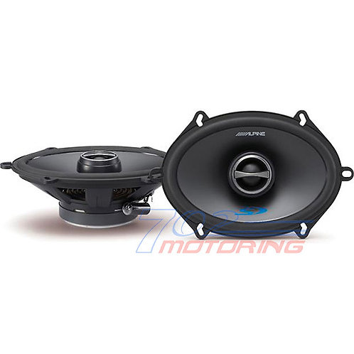"ALPINE SPS-517 TYPE-S SERIES 2-WAY COAXIAL 5""x7"" CAR SPEAKER NEW 230 Watts NEW!"