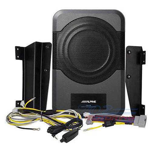 ALPINE PWE-S8-WRA COMPACT POWERED SUBWOOFER 2011-UP JEEP WRANGLER JK UNLIMITED