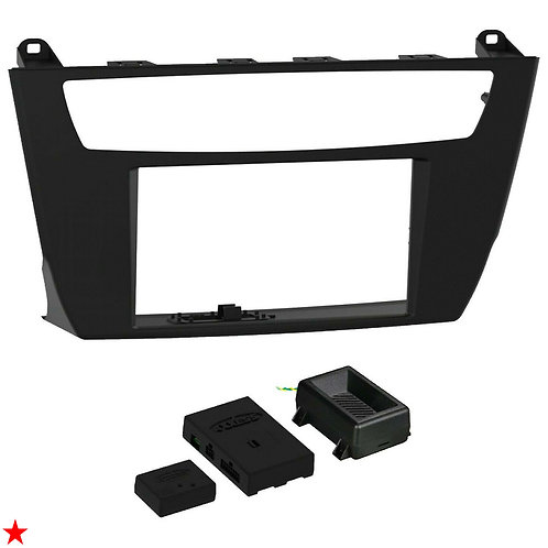 2015 - 2016 BMW 2 SERIES DOUBLE-DIN INSTALLATION KIT (WITH iDRIVE, WITHOUT AMP)