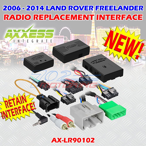 2006 - 2014 LAND ROVER FREELANDER WITH MOST25 AMP, SWC RETENTION AX-LR90102 AX-